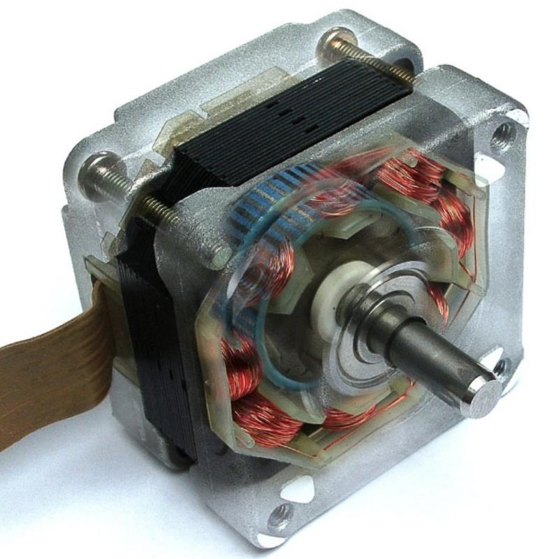 микрошаговый двигателель